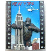 Empire State Bldg./Monkey Magnet