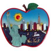 NYC Apple Shape Magnet