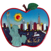 NYC Apple Shape Magnet