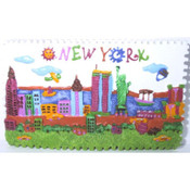 NYC Children Design Poly Magnet