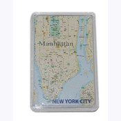 NYC Map Playing Cards