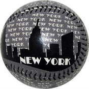 "NYC ""Grey Skyline"" Baseball"