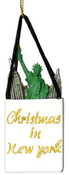 NYC Shopping Bag Ornament