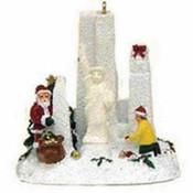 White Christmas NYC Christmas Ornament