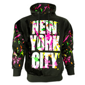New York City Black Paint Splatter Sweatshirt