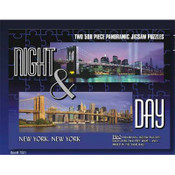 NYC Night & Day Panoramic Jigsaw Puzzles