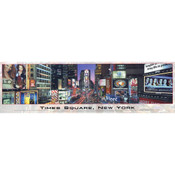 Times Square, New York 750pc. Panoramic Jigsaw Puzzle