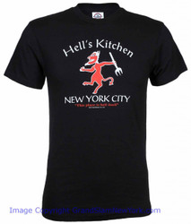 New York Hell 39 S Kitchen History Black Tee