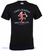 New York Hell's Kitchen History Black Tee