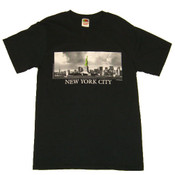 Statue of Liberty contrast photo Adult Tee