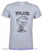 New York Attitude Grey Adult Tee