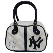 "Yankees Navy ""Stars"" Bowling Bag Purse"
