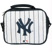 Yankees Navy Pinstripe Soft Lunch Box