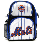 Mets Pinstripe Backpack w/Bottle