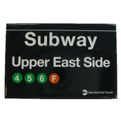 Upper East Side Subway Magnet