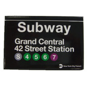 Grand Central Subway Magnet