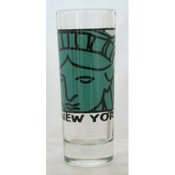 "NYC ""Lady Liberty"" Shooter Glass"