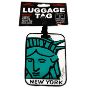 "NYC ""Lady Liberty"" Luggage Tag"