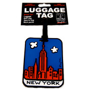 "NYC ""Cartoon Skyline"" Luggage Tag"