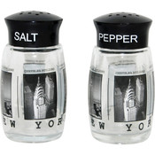NYC Black & White Photos Salt & Pepper Shakers