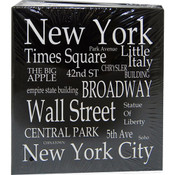 "NYC ""White Letters"" Medium Photo Album"
