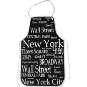"NYC ""White Letters"" Apron"