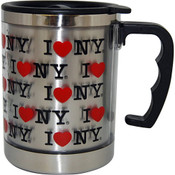 "I Love NY ""Multi"" 11oz. Thermal Mug"