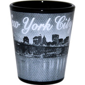 I Love NY At Night Shot Glass