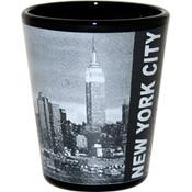 New York City Skyline Photo Shot Glass