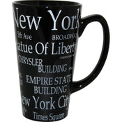 "NYC ""White Letters"" Java Mug"
