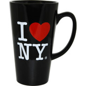I Love NY Black Java Mug