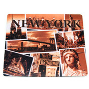 "NYC ""Postcard Collage"" Mouse Pad"