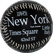 "NYC ""White Letters"" Baseball"