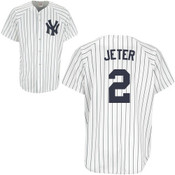 Yankees Replica Derek Jeter Home Jersey