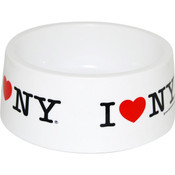 I Love NY Dog Bowl