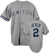 Yankees Replica Derek Jeter Away Jersey