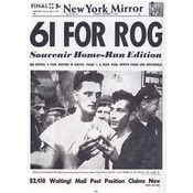 61 for Rog Historic Replica Newspaper