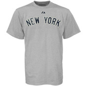 Yankees Road Wordmark Mens Tee