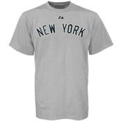 Yankees Road Wordmark Mens Tee