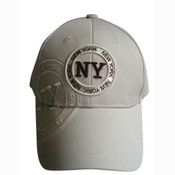 "Khaki New York ""Circle"" Cap"