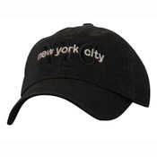 Black/ Black NYC Cap #12