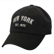 """Black/ White NY """"Est 1625"""" Cap"""