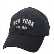 "Navy/ White NY ""Est 1625"" Cap"