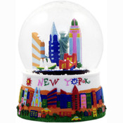 NYC Children's Skyline 65mm Snowglobe