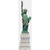 17 1/2 Inch Statue of Liberty w/ Full Base