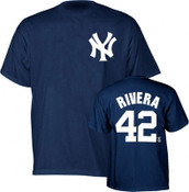 Yankees Mariano Rivera Name and Number Youth Tee