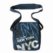 Robin-Ruth NYC Blue Messenger Bag