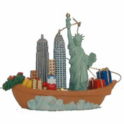 NYC In The Sea Christmas Ornament