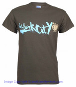 New York City Graffiti Apple Green Tee Shirt