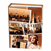 "NYC ""Sepia Photos"" Small Photo Album"